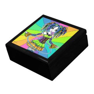 """Luxie"" Rainbow CyberGoth Hula Hoop Fairy Gift Box"