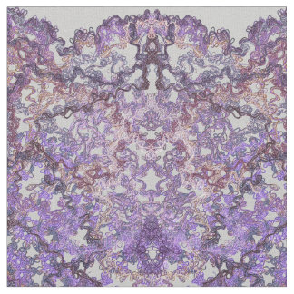 Luxurious, elegant laced pattern in faded-lilac fabric