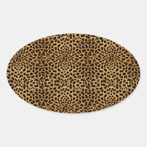 Luxurious Leopard Envelope Seal Sticker Leopard