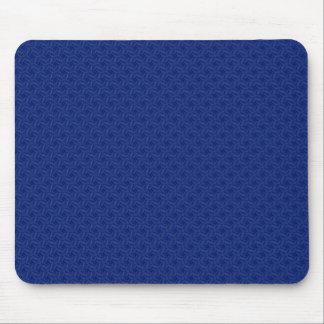 luxurious light blue pattern on rough blue backgro mousepads