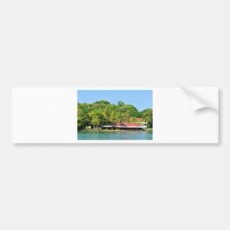 Luxurious resort bumper sticker