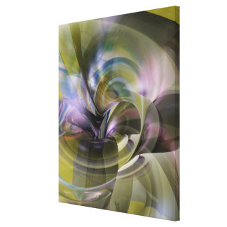 Luxurious Vortices Gallery Wrapped Canvas