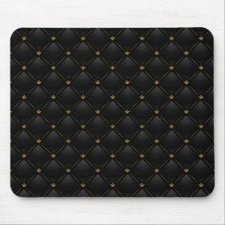 Luxury Black 01 Mouse Pad
