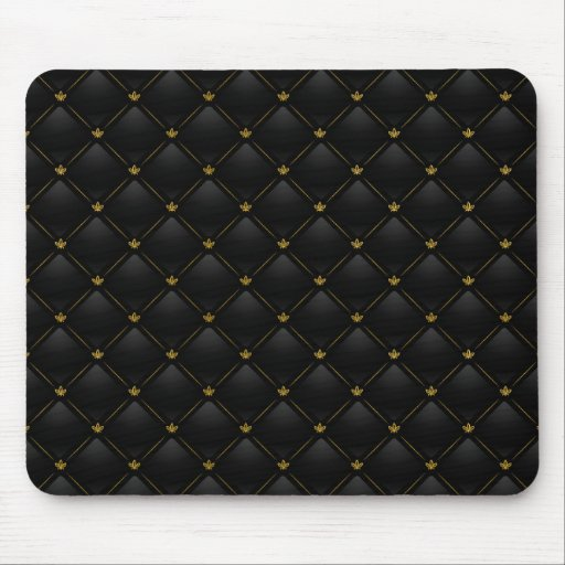 Luxury Black 01 Mousepad