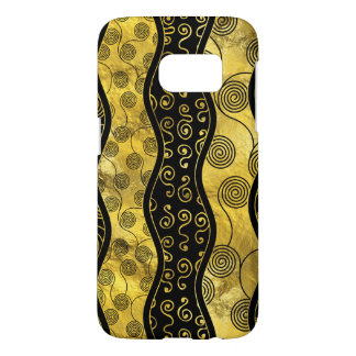 Luxury  Black and Gold African Pattern