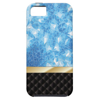 Luxury Blue Ice Crystal iPhone 5 Case