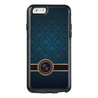 Luxury Damask Vintage Initials OtterBox iPhone 6/6s Case