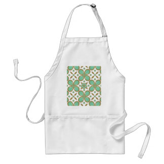 Luxury Decorative Pattern Collage Adult Apron