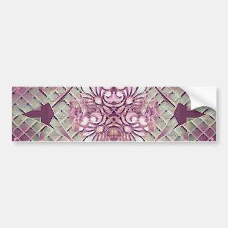 Luxury Decorative Swirls Bumper Sticker