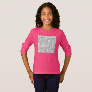 Luxury designers Folk tshirt / Pink!