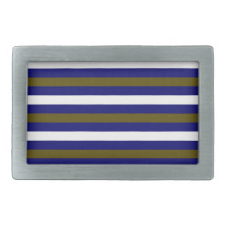 Luxury designers stripes / BLUE Belt Buckles