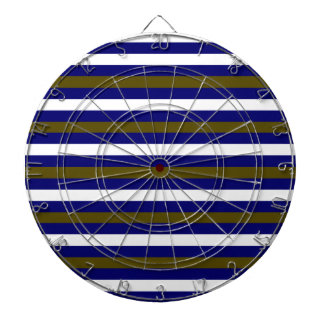 Luxury designers stripes / BLUE Dartboards