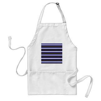 Luxury designers stripes / BLUE Standard Apron
