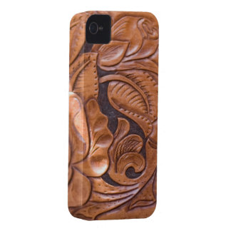 luxury fashion leather skin  VOL6 iPhone 4 Case