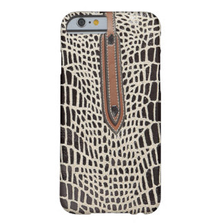 luxury fashion leather skin VOL8 Barely There iPhone 6 Case