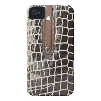 luxury fashion leather skin  VOL9 iPhone 4 Cover