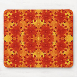 Luxury Floral Background Pattern Mouse Pad