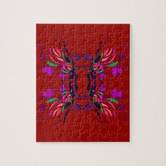 Luxury Folk mexico ethno design Jigsaw Puzzle
