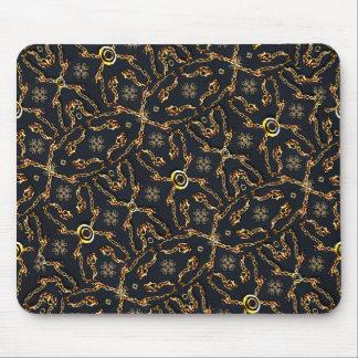 Luxury Geometric Motif Pattern Mousepads