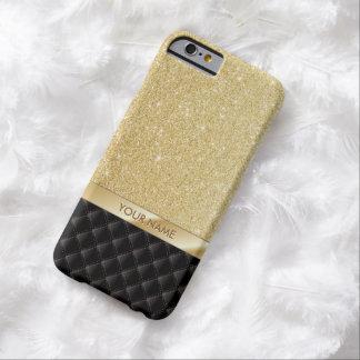 Luxury Gold Glitter Custom Name iPhone 6 case