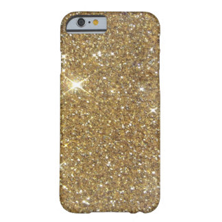 Luxury Gold Glitter - Printed Image Barely There iPhone 6 Case