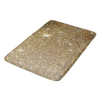 Luxury Gold Glitter - Printed Image Bath Mats