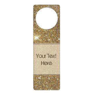 Luxury Gold Glitter - Printed Image Door Hanger