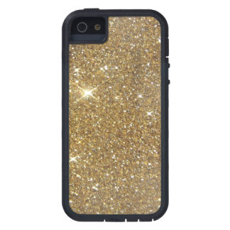 Luxury Gold Glitter - Printed Image iPhone 5 Cover
