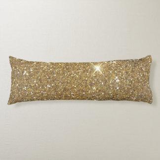 Luxury Gold Glitter Sparkle Body Cushion