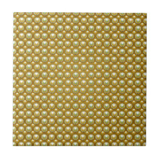Luxury golden pearls ceramic tile