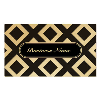 Luxury Graphic Square Pattern Pack Of Standard Business Cards