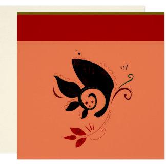 Luxury Henna mandala Oriental art / Wedding Card