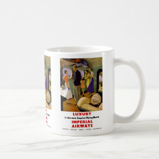 Luxury in the New Empire Flying Boats Coffee Mug