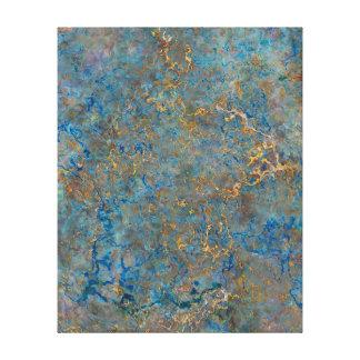 Luxury Lapis Lazuli Marble Canvas Prints