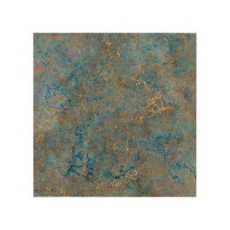 Luxury Lapis Lazuli Marble Wood Canvases