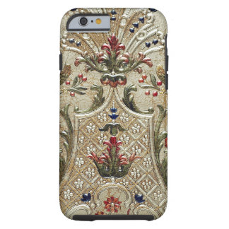 LUXURY LEATHER Gilded Print Vibe iPhone 6 Case