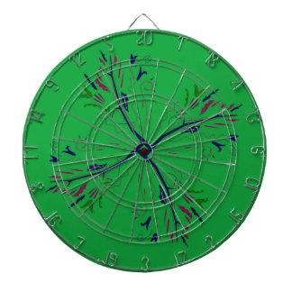 Luxury mandala art Green Dartboard