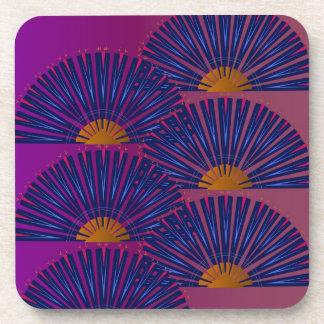 Luxury Marakesh Ethno ornaments PINK Coaster