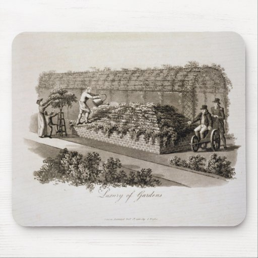Luxury of Gardens, from 'Fragments on the Theory a Mouse Pad