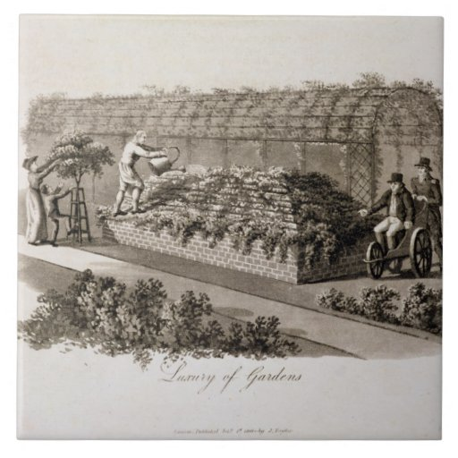 Luxury of Gardens, from 'Fragments on the Theory a Tile