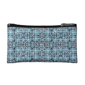 Luxury Oriental Ornate Pattern Cosmetic Bag