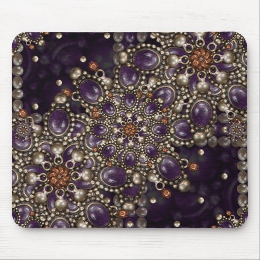 Luxury Ornament Artwork Mouse Pads