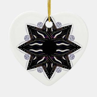 Luxury ornament  black on white