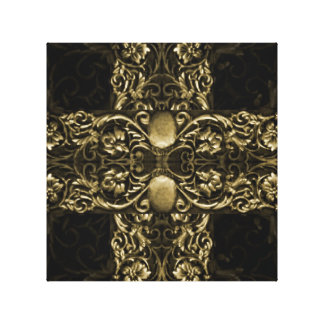 Luxury Ornamental Artwork Gallery Wrapped Canvas