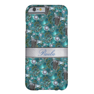 Luxury Pearls Silver Sparkle iPhone 6 Case