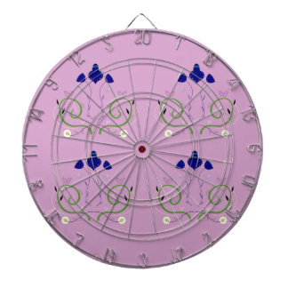Luxury Purple art Ornaments. Design Shop Dartboard