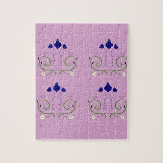 Luxury Purple art Ornaments. Design Shop Jigsaw Puzzle