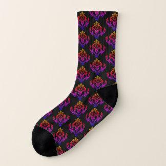Luxury Rainbow Colors Purple Stylish Socks 1