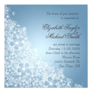 Luxury Red Floral Spring Blanket Wedding Invite