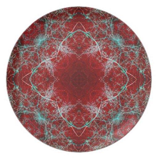 Luxury Relic Art Plate